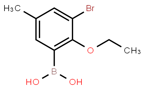 BP20387 | 870718-00-6 | 3-Bromo-2-ethoxy-5-methylphenylboronic acid