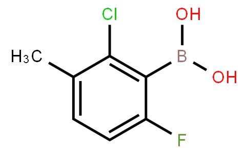BP20421 | 352535-85-4 | 2-Chloro-6-fluoro-3-methylphenylboronic acid