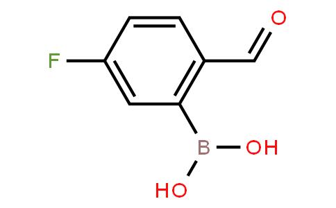 BP20506 | 1256355-30-2 | 5-Fluoro-2-formylphenylboronic acid