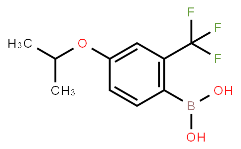 BP20541 | 313545-40-3 | 4-Isopropoxy-2-trifluoromethylphenylboronic acid