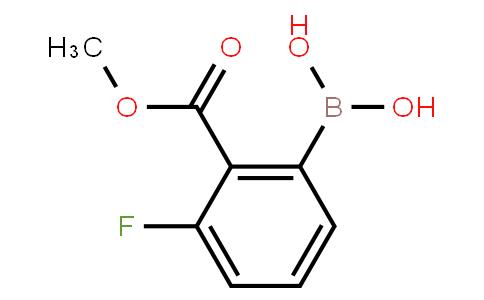 BP20551   1256355-33-5   2-Methoxycarbonyl-3-fluorophenylboronic acid