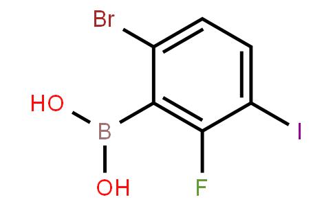 BP20668 | 1072951-90-6 | 6-Bromo-2-fluoro-3-iodophenylboronic acid