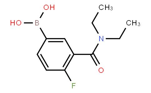 BP20731 | 874219-28-0 | 3-(Diethylcarbamoyl)-4-fluorophenylboronic acid