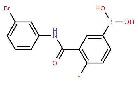 BP20733 | 1451393-30-8 | 3-(3-Bromophenylcarbamoyl)-4-fluorophenylboronic acid