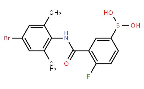 BP20744   1451391-49-3   3-(4-Bromo-2,6-dimethylphenylcarbamoyl)-4-fluorophenylboronic acid
