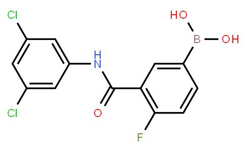 BP20746 | 1451393-28-4 | 3-(3,5-dichlorophenylcarbamoyl)-4-fluorophenylboronic acid