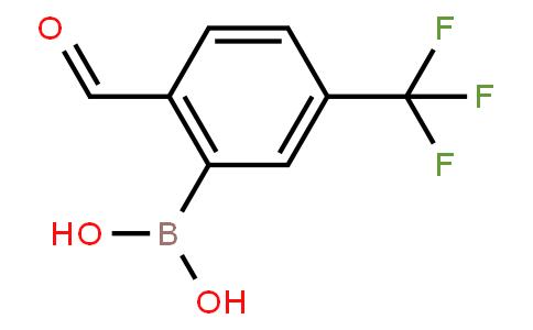 BP20764 | 1204580-94-8 | 2-Formyl-5-(trifluoromethyl)phenylboronic acid