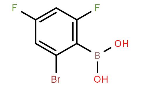 BP20769 | 1315339-48-0 | 2,4-Difluoro-6-bromophenylboronic acid