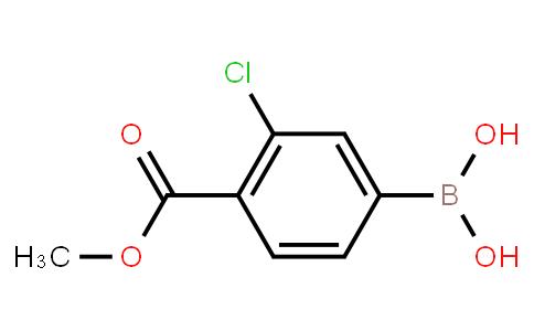 BP20799 | 603122-82-3 | 3-Chloro-4-(methoxycarbonyl)phenylboronic acid