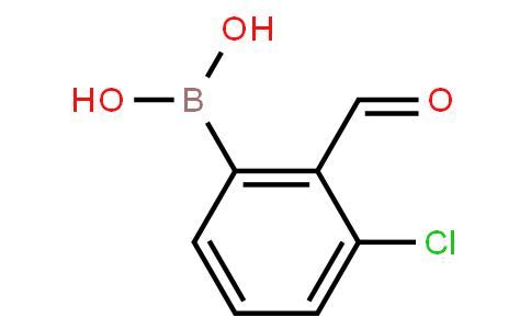 BP20805 | 928048-11-7 | 3-Chloro-2-formylphenylboronic acid