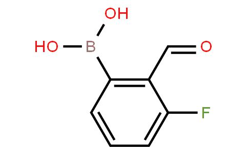 BP20806 | 871126-15-7 | 3-Fluoro-2-formylphenylboronic acid