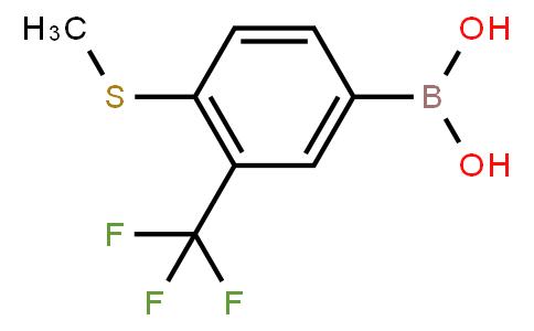 BP20844 | 877383-11-4 | 4-Methylthio-3-(trifluoromethyl)phenylboronic acid