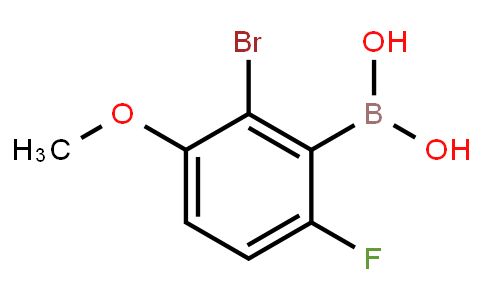 BP20856 | 957062-89-4 | 2-Bromo-6-fluoro-3-methoxyphenylboronic acid