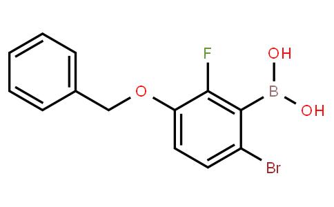 BP20864 | 957035-10-8 | 3-(Benzyloxy)-6-bromo-2-fluorophenylboronic acid