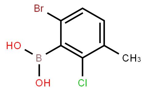 BP20865   957120-28-4   6-Bromo-2-chloro-3-methylphenylboronic acid
