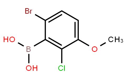 BP20868 | 957062-55-4 | 6-Bromo-2-chloro-3-methoxyphenylboronic acid
