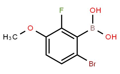 BP20874 | 871126-17-9 | 2-Fluoro-3-methoxy-6-bromophenylboronic acid