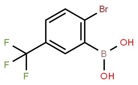 2-Bromo-5-trifluoromethylphenylboronic acid
