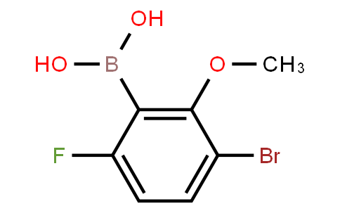 BP20888 | 957120-30-8 | 3-Bromo-6-fluoro-2-methoxyphenylboronic acid