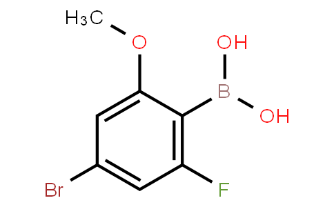 BP20889 | 957035-32-4 | 4-Bromo-2-fluoro-6-methoxyphenylboronic acid