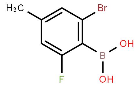 BP20893 | 1451391-47-1 | 2-Bromo-6-fluoro-4-methylphenylboronic acid