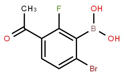BP20895   1451390-80-9   3-Acetyl-6-bromo-2-fluorophenylboronic acid