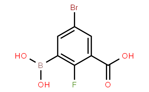 BP20903   957120-63-7   5-Bromo-3-carboxy-2-fluorophenylboronic acid