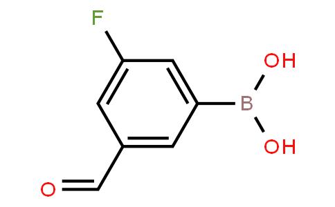 BP20917 | 328956-60-1 | 3-Fluoro-5-formylphenylboronic acid