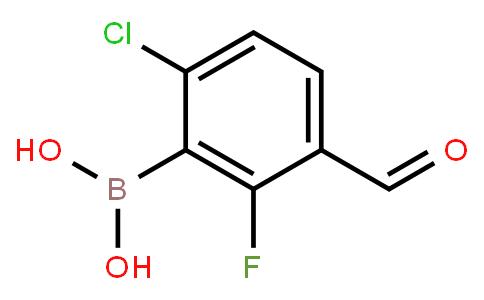 BP20919 | 1451393-10-4 | 6-Chloro-2-fluoro-3-formylphenylboronic acid