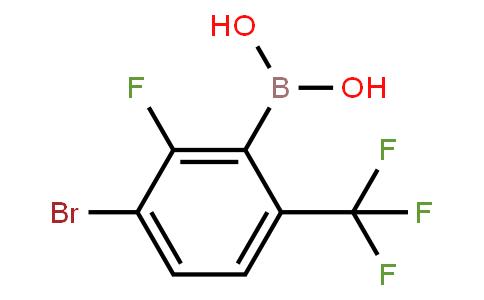 BP20971 | 1451392-89-4 | 3-Bromo-2-fluoro-6-(trifluoromethyl)phenylboronic acid