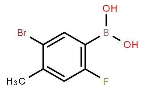 BP20996 | 957061-14-2 | 5-Bromo-2-fluoro-4-methylphenylboronic acid