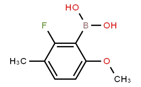 BP21008   1451392-12-3   2-Fluoro-6-methoxy-3-methylphenylboronic acid