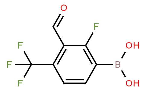 BP21014 | 1451393-07-9 | 2-Fluoro-3-formyl-4-(trifluoromethyl)phenylboronic acid