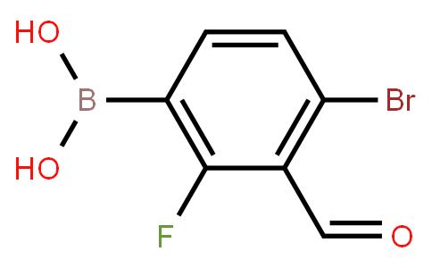 BP21025 | 1451393-06-8 | 4-Bromo-2-fluoro-3-formylphenylboronic acid