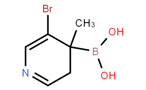 5-Bromo-4-methylpyridine-4-boronic acid