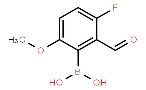 BP21035   1451392-14-5   3-Fluoro-2-formyl-6-methoxyphenylboronic acid
