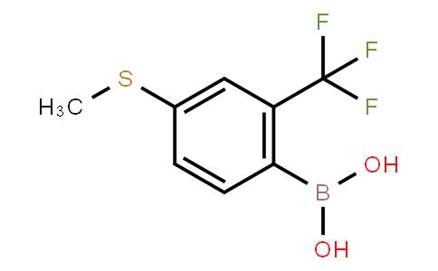 BP21060 | 1072945-99-3 | 4-(Methylthio)-2-(trifluoromethyl)phenylboronic acid
