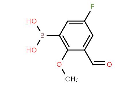 BP21061 | 1072951-73-5 | 5-Fluoro-3-formyl-2-methoxyphenylboronic acid