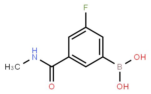 BP21063 | 871332-63-7 | 3-Fluoro-5-(methylcarbamoyl)phenylboronic acid