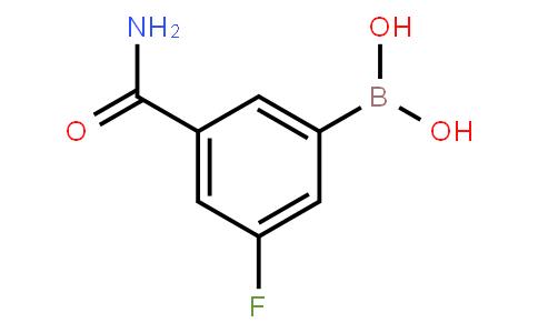 BP21065 | 871332-66-0 | 3-(Aminocarbonyl)-5-fluorophenylboronic acid
