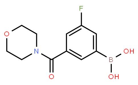 BP21067 | 874219-40-6 | 3-Fluoro-5-(morpholine-4-carbonyl)phenylboronic acid