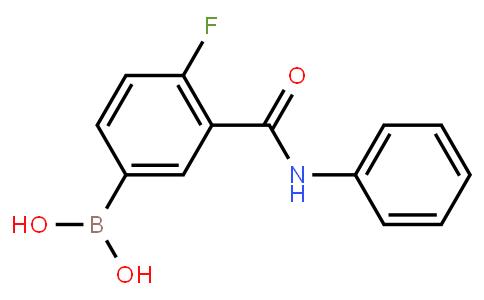 BP21076 | 874219-33-7 | 4-Fluoro-3-(phenylcarbamoyl)phenylboronic acid