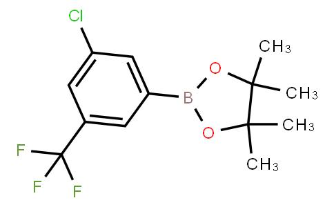 BP21082   942069-65-0   3-Chloro-5-(trifluoromethyl)phenylboronic acid pinacol ester