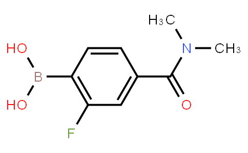 BP21100   874289-30-2   4-(Dimethylcarbamoyl)-2-fluorophenylboronic acid