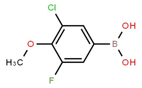 BP21122 | 1451392-04-3 | 3-Chloro-5-fluoro-4-methoxyphenylboronic acid