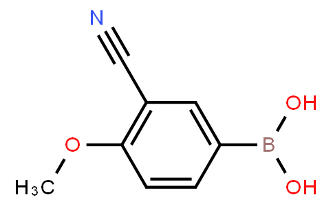 BP21126 | 911210-48-5 | 3-Cyano-4-methoxyphenylboronic acid