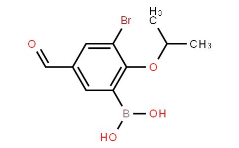BP21146   1072951-86-0   3-Bromo-2-isopropoxy-5-formylphenylboronic acid