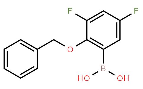 BP21154 | 1150114-56-9 | 2-(Benzyloxy)-3,5-difluorophenylboronic acid