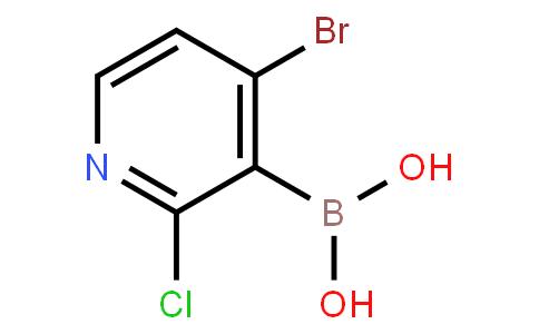 4-Bromo-2-chloropyridine-3-boronic acid