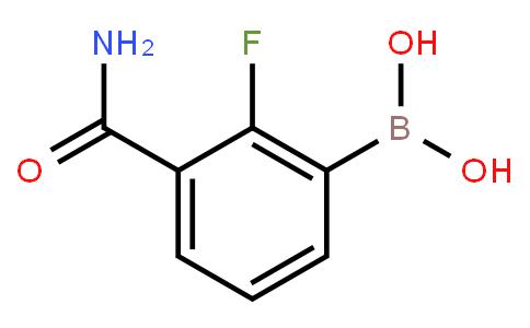 BP21187   1451392-76-9   3-Aminocarbonyl-2-fluorophenylboronic acid